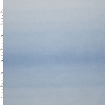 Blenders Ombre Light Blue Quilter's Cotton Print from Boundless Fabrics Fabric By The Yard