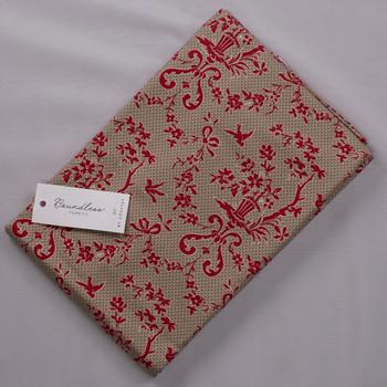 Boundless Ruby Rue Damask (4y Bargain Cut) Fabric By The Yard