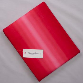 Boundless Ombré Poppy (4y Bargain Cut) Fabric By The Yard