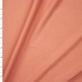 Terracotta Lightweight Cotton/Modal Jersey Knit Fabric By The Yard