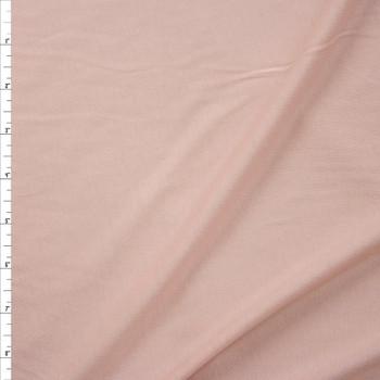 Peach Lightweight Cotton/Modal Jersey Knit Fabric By The Yard