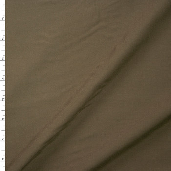 Olive Green Rayon Challis Fabric By The Yard