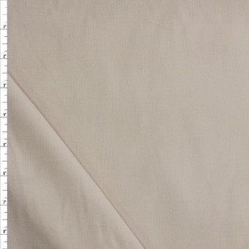 Cream Baby Wale Corduroy Fabric By The Yard