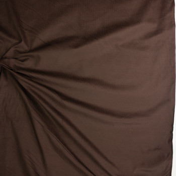 Chocolate Brown Midweight Baby Wale Corduroy Fabric By The Yard - Wide shot