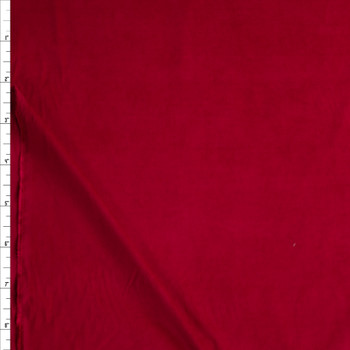 Dark Red Baby Wale Corduroy Fabric By The Yard