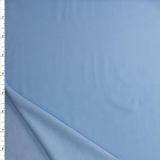 Sky Blue Midweight Sweatshirt Fleece Fabric By The Yard