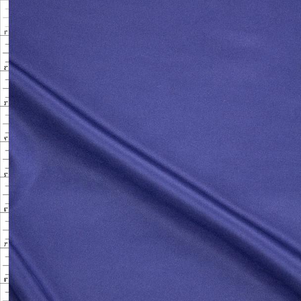 Navy Shiny Scuba Knit Fabric By The Yard