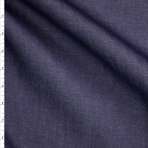 Indigo #18 Midweight Designer Denim from 'True Religion' Fabric By The Yard