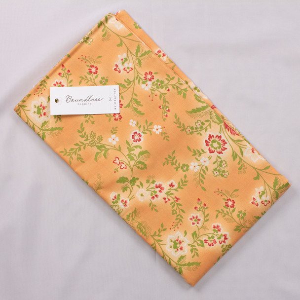 Boundless Vines Apricot (3y Bargain Cut) Fabric By The Yard