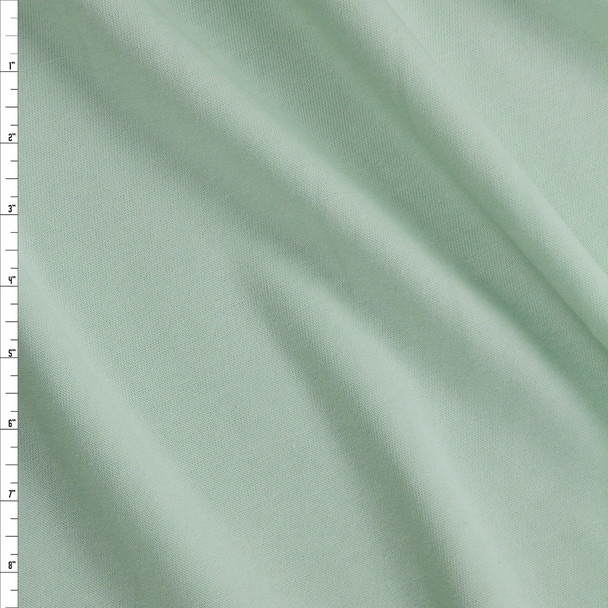 Mint Green Midweight Extra Wide Poly Sweatshirt Fleece Fabric By The Yard
