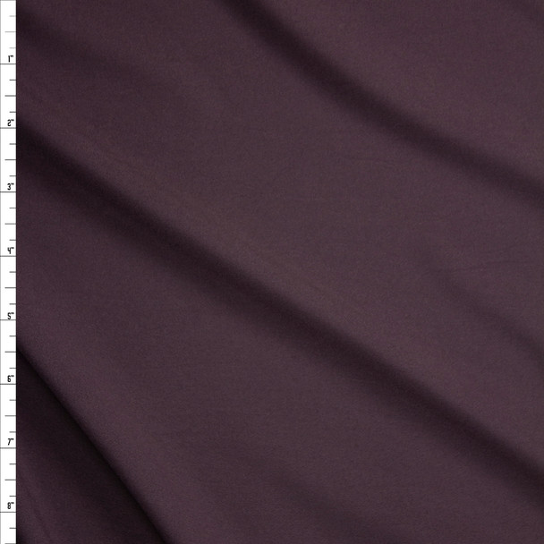 Chocolate Stretch Poly Lining Fabric By The Yard
