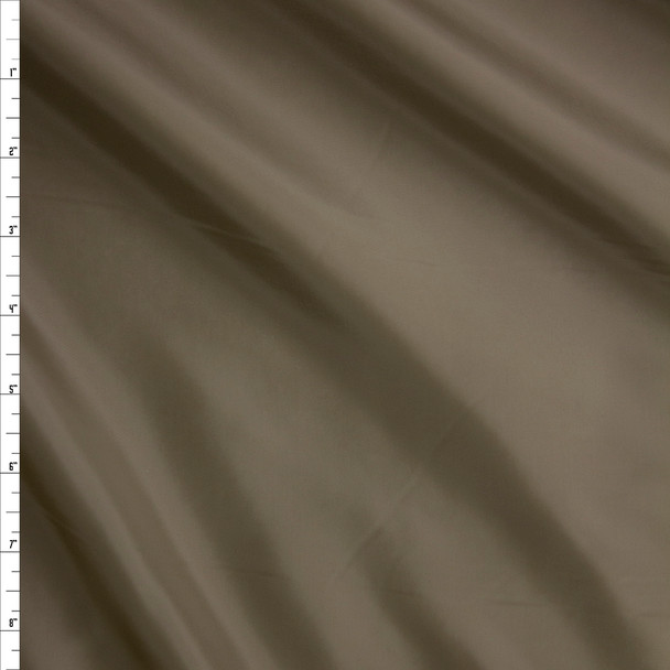 Taupe Polyester Lining Fabric By The Yard