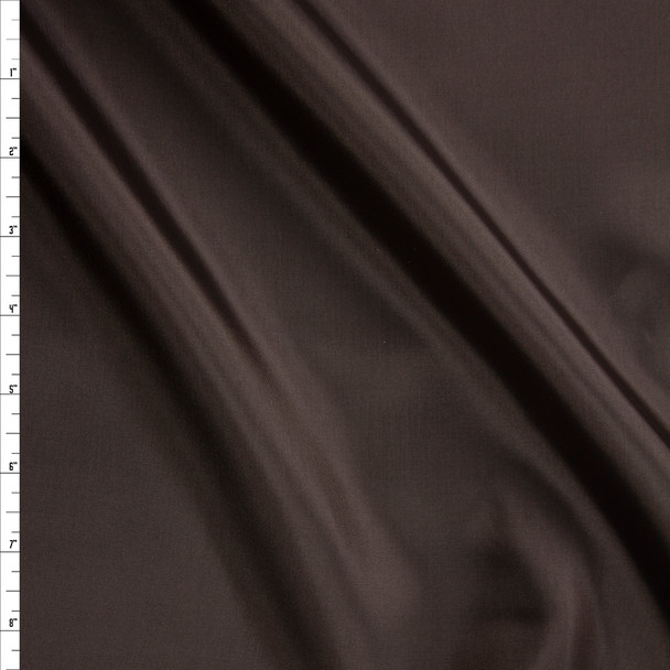 Chocolate Acetate Lining Fabric By The Yard