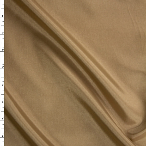 Tan Acetate Lining Fabric By The Yard