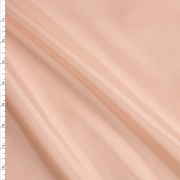 Peach Acetate Lining Fabric By The Yard
