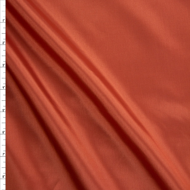 Rust Acetate Lining Fabric By The Yard