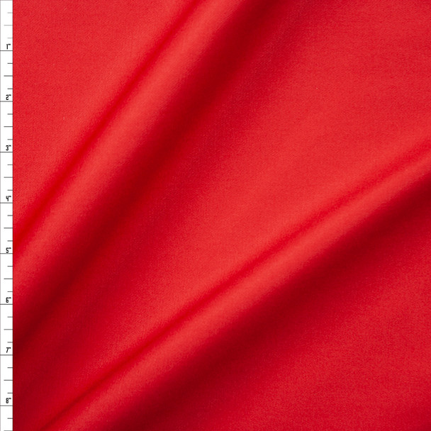 Red Cotton Twill Fabric By The Yard