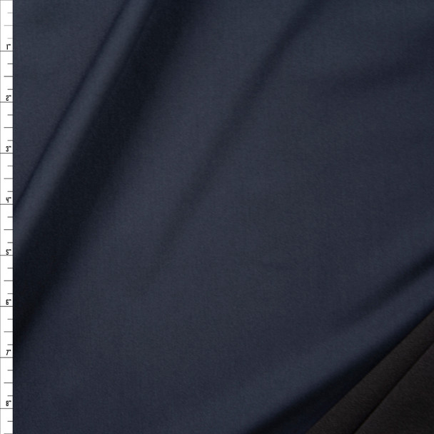 Midnight Midweight Stretch Athletic Knit Fabric By The Yard