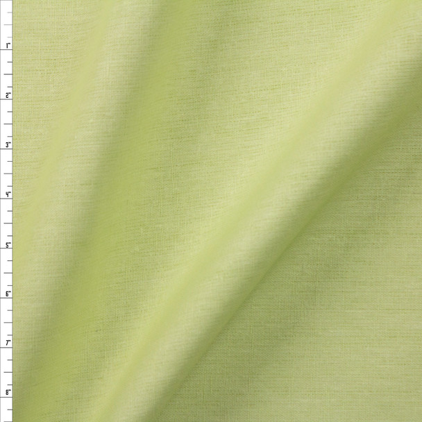 Mint Designer Midweight Linen Fabric By The Yard