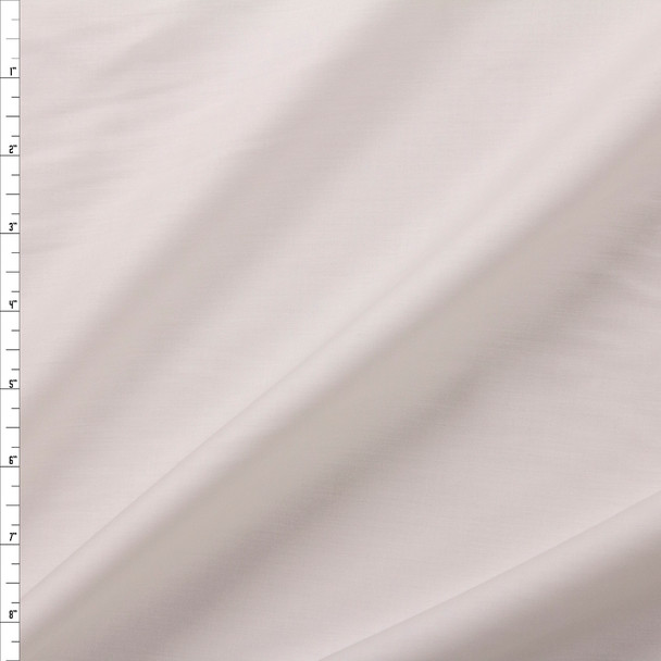 Offwhite Shirting Weight Cotton Sateen Fabric By The Yard