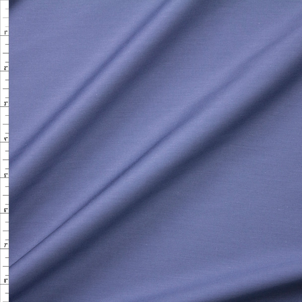 Slate Shirting Weight Cotton Sateen Fabric By The Yard