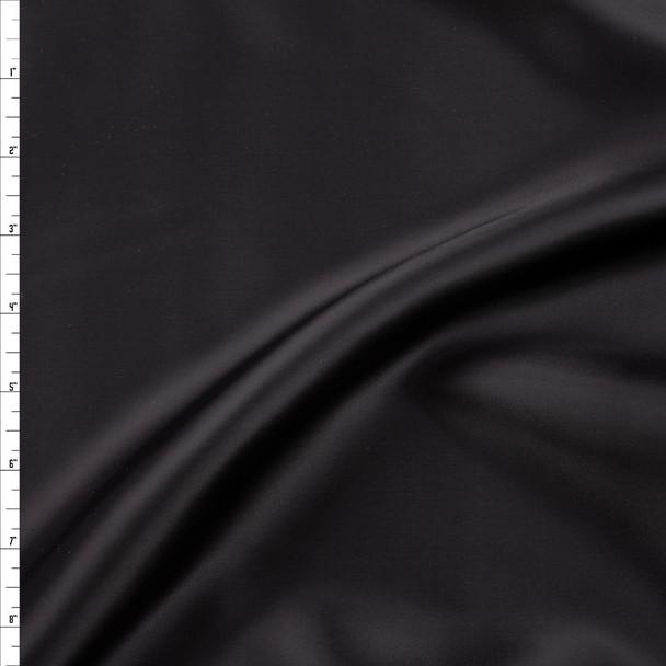 Black Designer Rayon Lining Fabric By The Yard