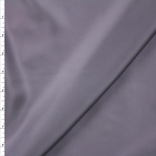 Steel Grey Designer Rayon Lining Fabric By The Yard