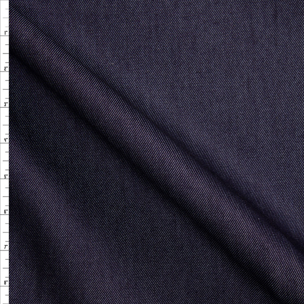 Dark Indigo #3 Designer Denim From 'True Religion' Fabric By The Yard