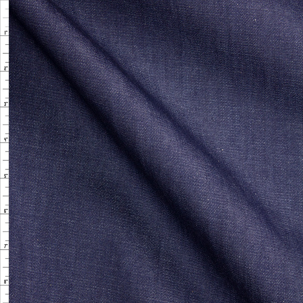 Indigo #27 Designer Denim From 'True Religion' Fabric By The Yard