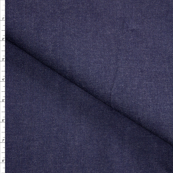 Indigo #28 Designer Denim From 'True Religion' Fabric By The Yard