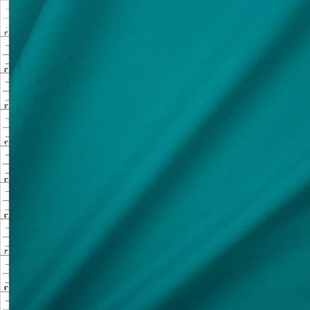 Jade Designer Stretch Midweight Poplin Fabric By The Yard
