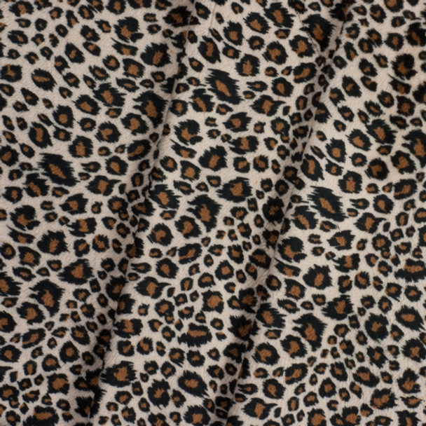 Cheetah Print Cuddle Fake Fur