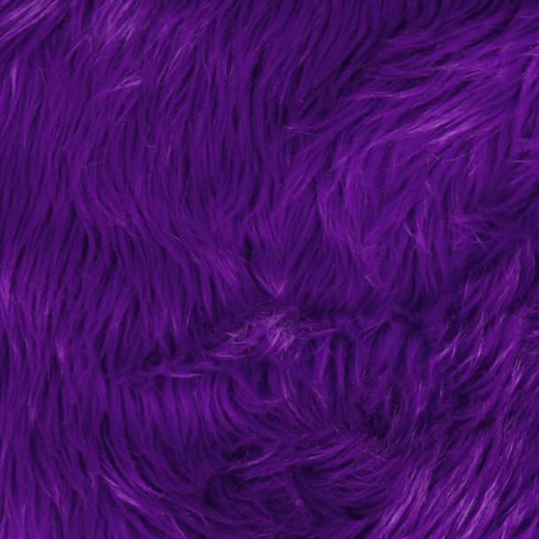 Purple Shag Faux Fur