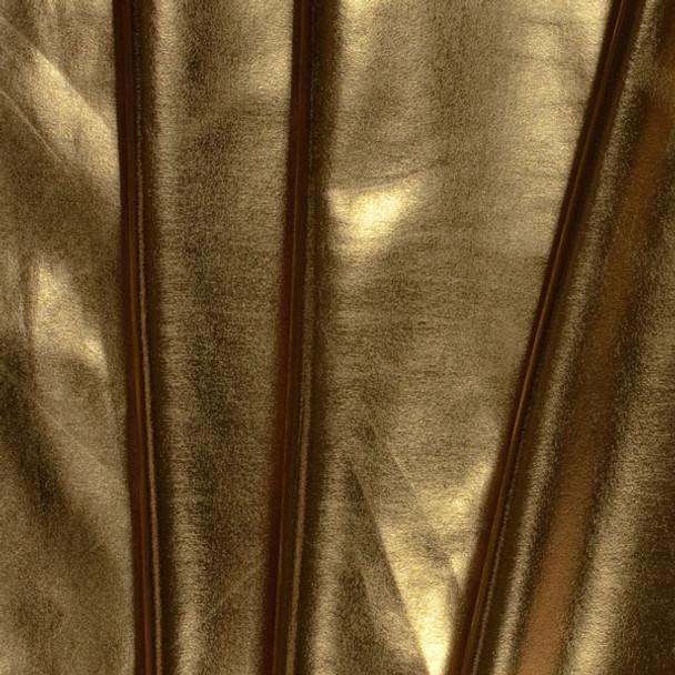 Gold Lycra Lame Fabric