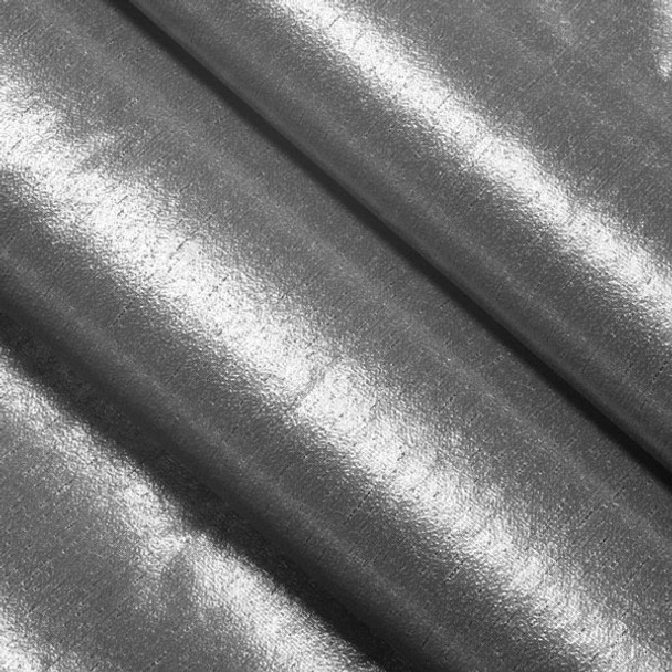 Silver Tissue Lame Fabric