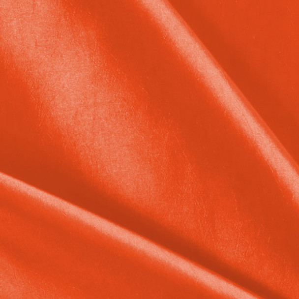 Neon Orange Taffeta
