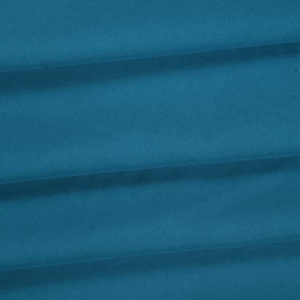 Turquoise Polyester Poplin Fabric