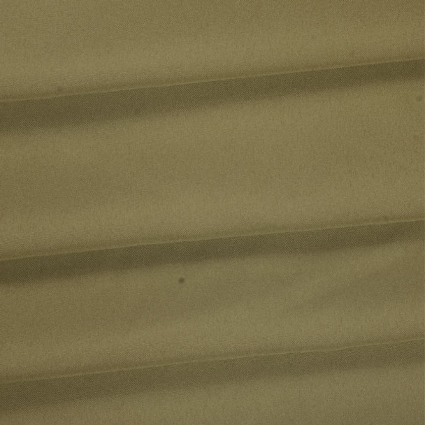 Taupe Polyester Poplin Fabric
