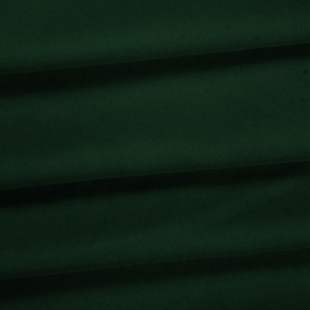 Hunter Green Polyester Poplin Fabric