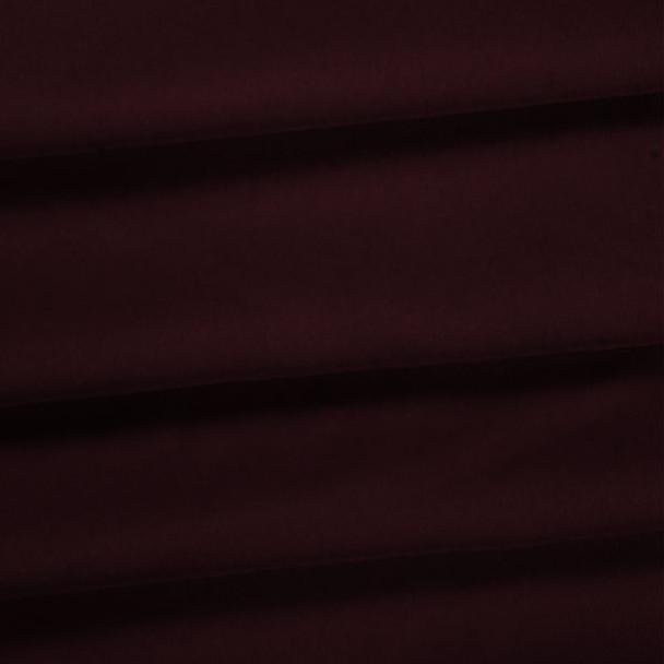 Burgundy Polyester Poplin Fabric
