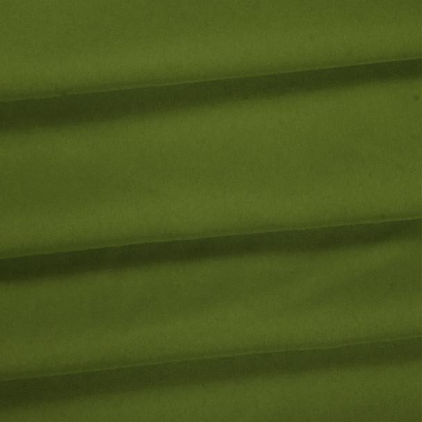 Avocado Green Polyester Poplin Fabric