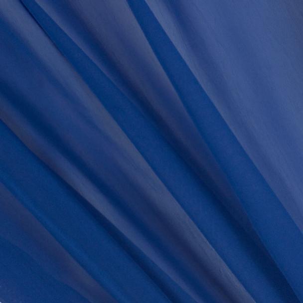 Cobalt Blue Two-Tone Chiffon
