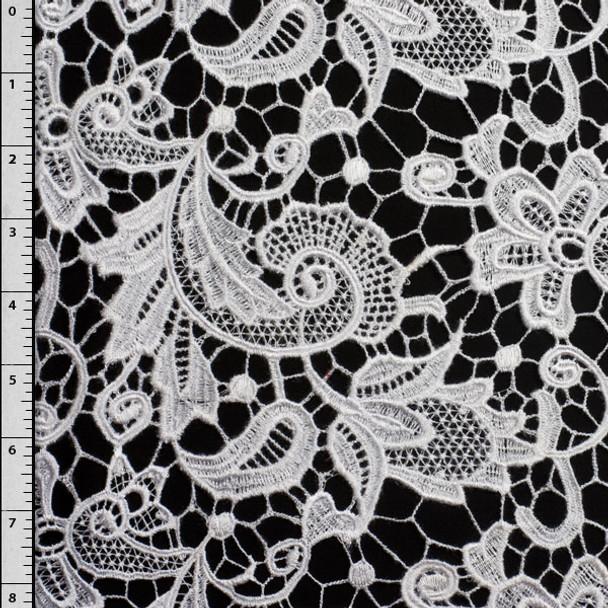 White Fashion Lace #LC01