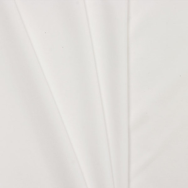 White Polyester Interlock Fabric