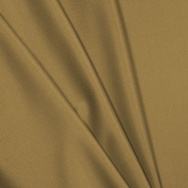 Tan Polyester Interlock Fabric