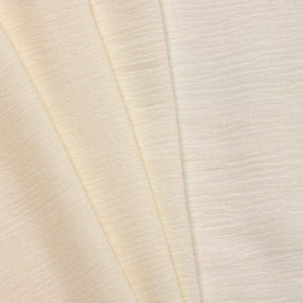 Ivory Cotton Gauze Fabric