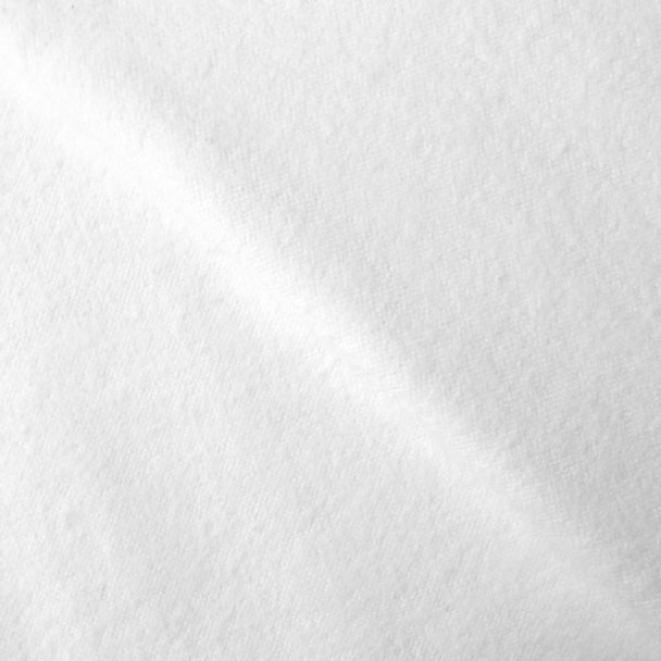 White Cotton Flannel Fabric