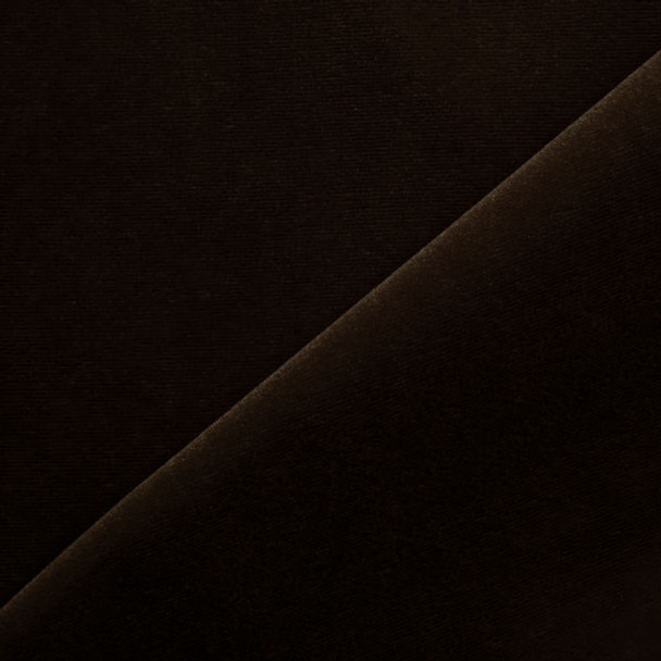 Brown Velvet Fabric