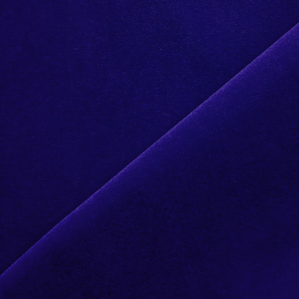 Royal Blue Velvet Fabric