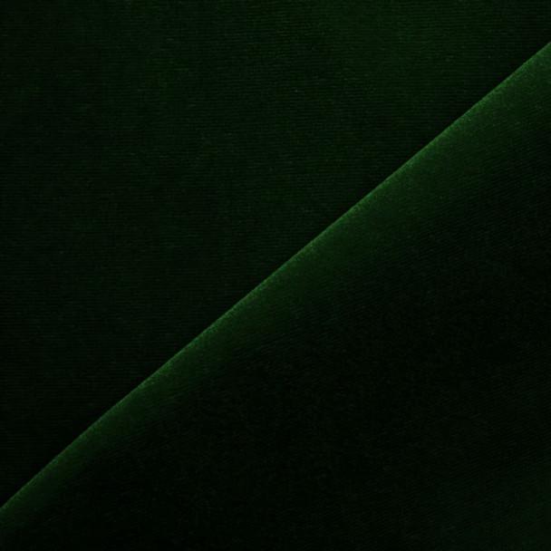 Hunter Green Velvet Fabric